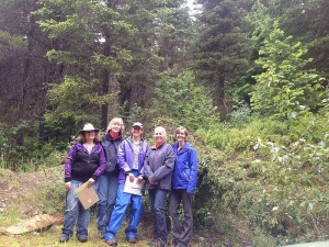Group shot Huckleberry research