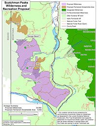 Scotchman Peaks Wilderness and Recreation Proposal