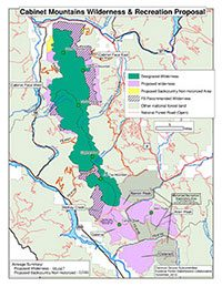 Cabinet Mountains Wilderness and Recreation Proposal